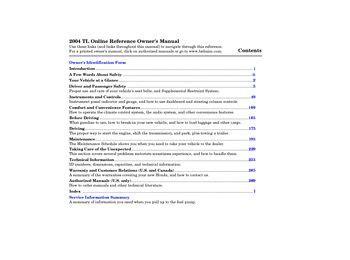 free online car repair manuals download 2003 acura tl parking system download 2004 acura tl owner s manual pdf 283 pages