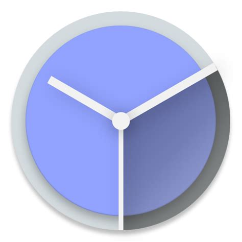 android clock clock icon android lollipop iconset dtafalonso
