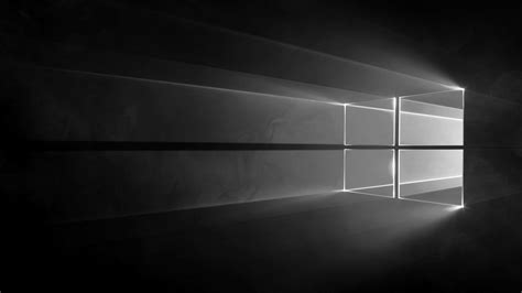 Windows L by Windows 10 Wallpaper Grayscaled And Darkened By O L A V