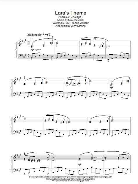 theme music dr zhivago lara s theme from dr zhivago sheet music direct