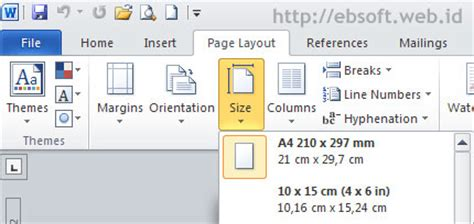 microsoft word normal layout paper sizing tips microsoft word 2010 2007 and 2003 my blog