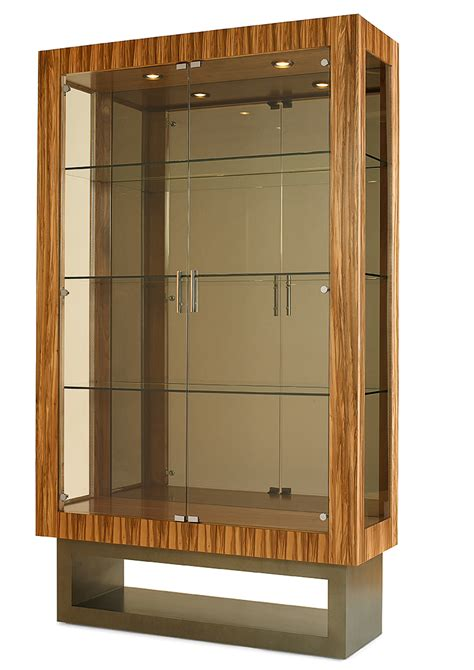 Contemporary Hutch China Cabinet Contemporary China Display St Louis Homes Lifestyles