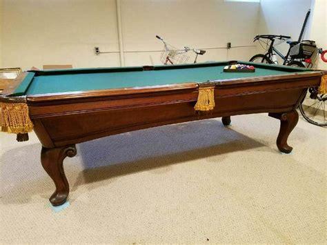 amf pool table 8 amf mahogany