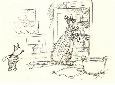 E H Shepard Sketches by Piglet And Kanga E H Shepard 1926 Piglets Sketches