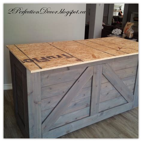 How To Build A Wood Bar Top Counter Remodelaholic Ikea Hack Rustic Bar With Galvanized Metal Top