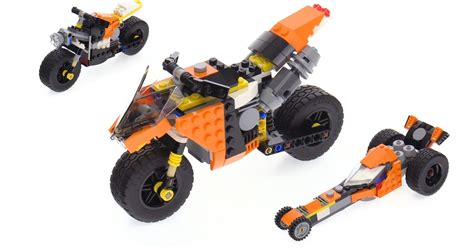 lego creator 3 in 1 sunset bike review 31059
