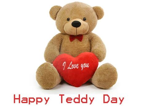 cute happy teddy bear day  quotes pictures