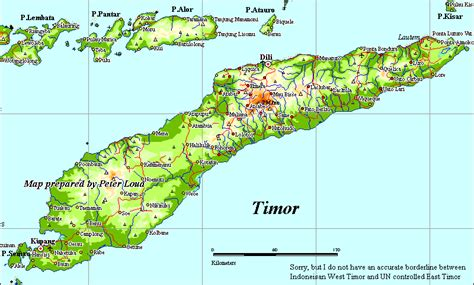 East Of Bali From Lombok To Timor maps of indonesia by loud