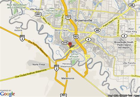 maps brownsville texas map of best value inn colonial hotel brownsville brownsville