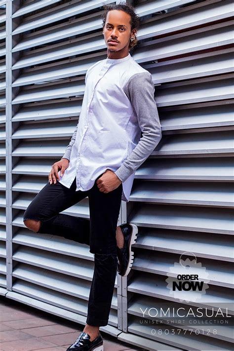 Yomi Shirt by Designer Yomi Makun Unveils His Unisex Shirt