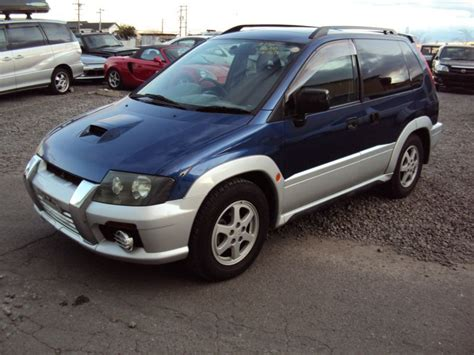 mitsubishi rvr 1998 mitsubishi rvr 4wd sports gear x3 1998 used for sale