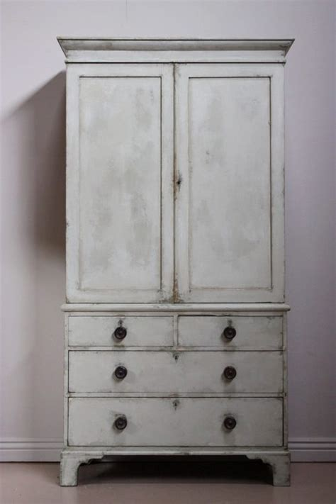 Press Or Cupboard 19th Century Antique Linen Press Cupboard