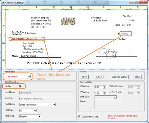 Name Background Check How To Print A Check With Payee Name Only But Without Amount