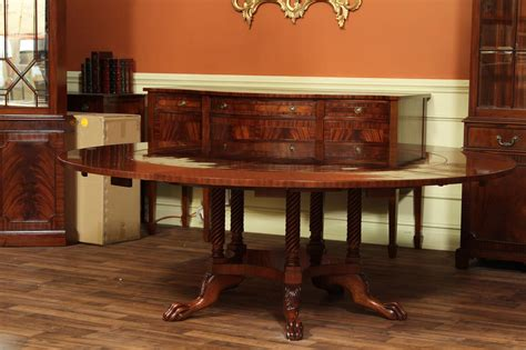 Antique Mahogany Dining Table by Antique Mahogany Dining Table By Hickory Chair Company Ebay