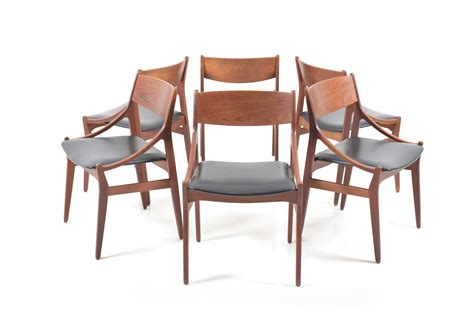 Set Of 6 Dining Room Chairs Set Of 6 Dining Chairs By H Vestervig Eriksen Room Of