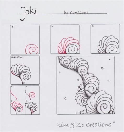 Doodle Pattern Tutorial | 5342 best zentangle tutorials images on pinterest