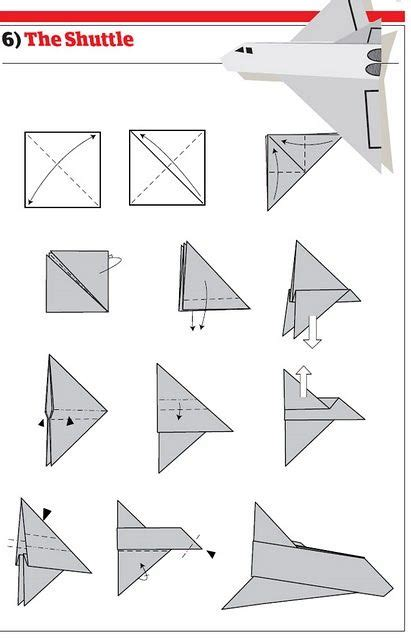 How To Make A Standard Paper Airplane - picture how to make cool paper planes
