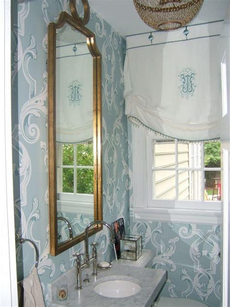 window decor powder room powder room