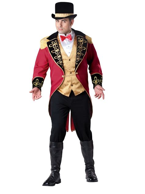 mens 20s costumes costume discounters mens ringmaster costume occupational costumes for adults