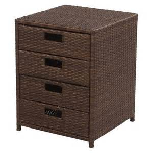 Patio Storage Table Wicker Patio Storage Table Target