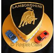 Pin Lamborghini Cake By Casacakes Cakesdecorcom Decorating On
