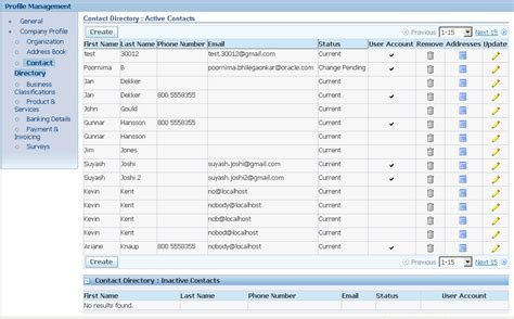 Directory By Address Oracle Isupplier Portal User S Guide