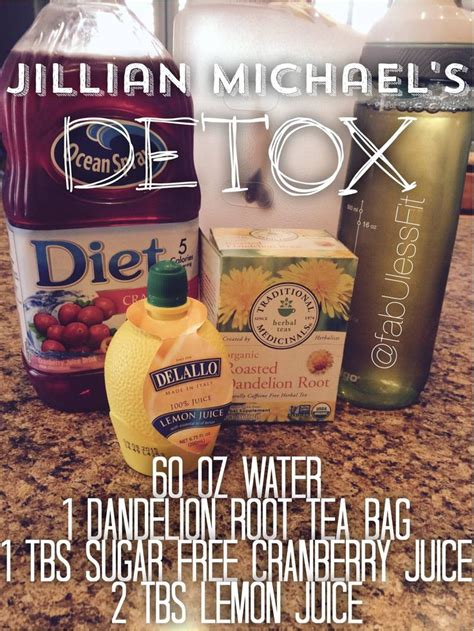 Jillian Detox Drink Results by 25 Best Ideas About Jillian On
