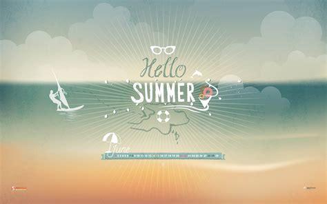 summer june  calendar wallpaper preview wallpapercom