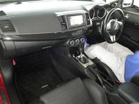 mitsubishi evo gsr interior japanese car auction find 2010 mitsubishi lancer evo gsr