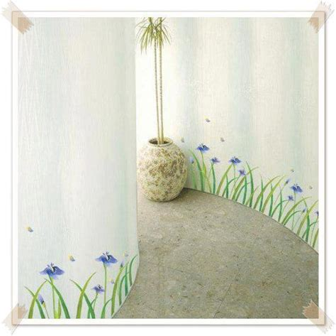 Wall Sticker Kotak Kotak Tulip Ungu wallsticker bellechant