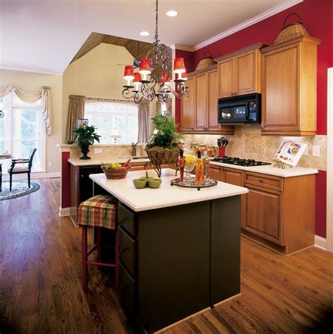 red kitchen ideas color scheme kitchen decorating ideas awesome red