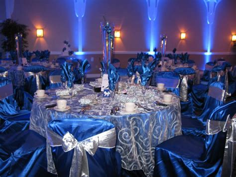blue wedding reception decorations popular news
