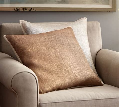 pottery barn bed pillows metallic printed flax pillow cover pottery barn