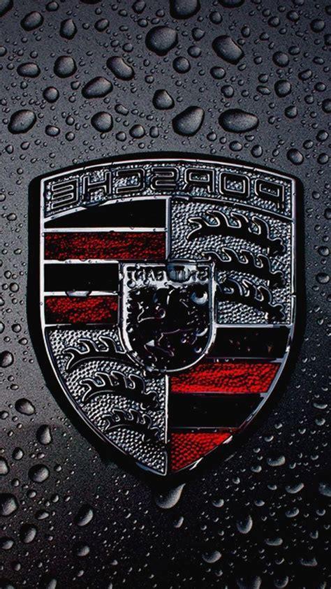 porsche logo wallpaper iphone porsche emblem wallpapers group 78