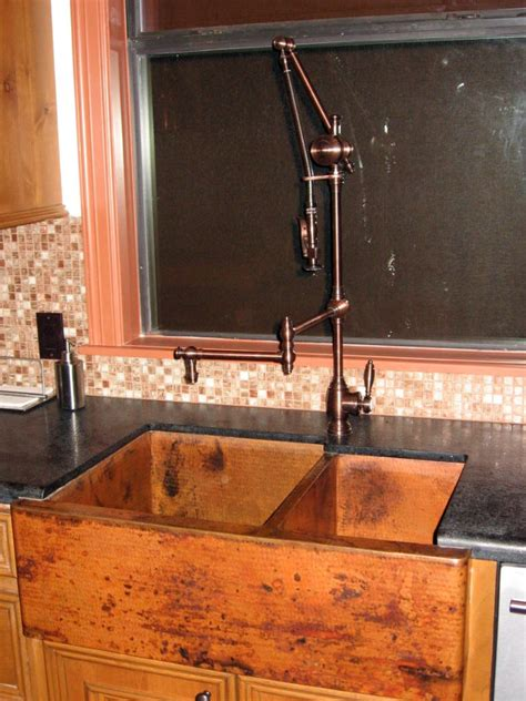 custom kitchen faucets cottaquilla copper wholesalers of quality hammered copper custom designs kitchen sinks
