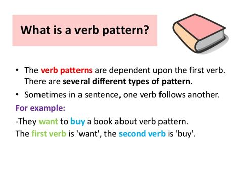 verb pattern block verb pattern