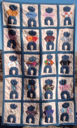 free printable cowboy quilt patterns cowboy quilt unusal quilts pinterest quilt cowboys