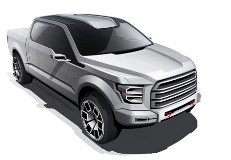 future ford trucks ford reveals concept trucks that ultimately became atlas