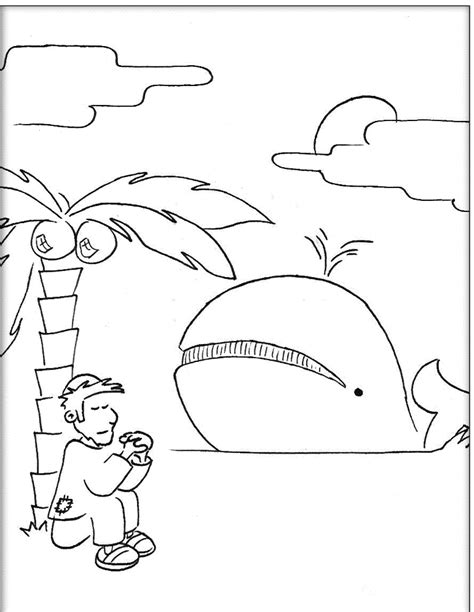 coloring page jonah jonah coloring pages coloring home