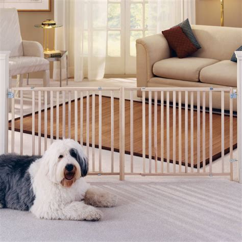 pet swing gate mypet wood extra wide swing pet gate for dogs cats