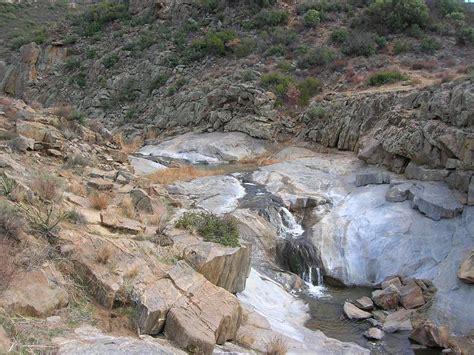 Kitchen Creek by Kitchen Creek Falls San Diego Pacific Crest Trail