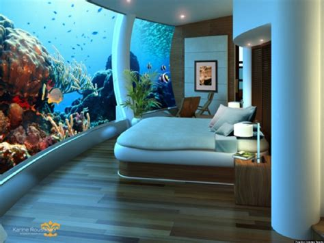 bedroom under water underwater hotels five things you need to know photos