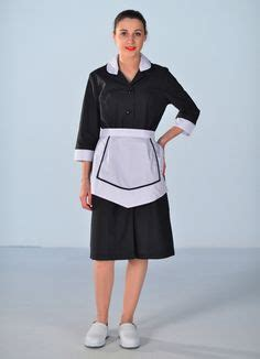 blouse femme de chambre sleeve supermarket uniforms work store