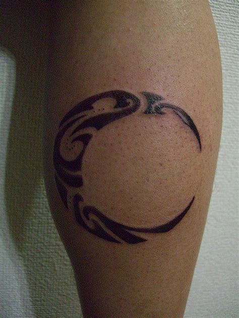 moon tribal tattoo 11 beautiful tribal moon tattoos only tribal