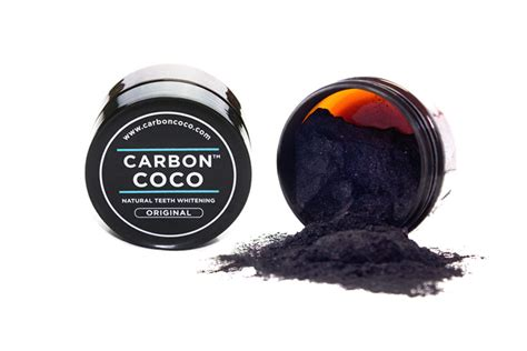 review    white teeth  carbon coco activated