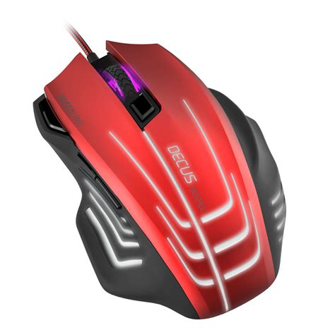 Mouse Gaming Nyk Colour Usb speedlink decus respec 5000dpi optical pc gaming mouse with 7 colour lighting effects and weight