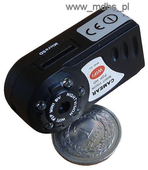 Kamera Cctv Wi Fi 1 mini kamera ip wi fi do ukrycia dzie蜒 noc 1280x720 4 gb