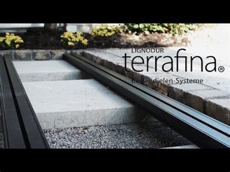 verlegen einer terrafina terrasse wpc teil