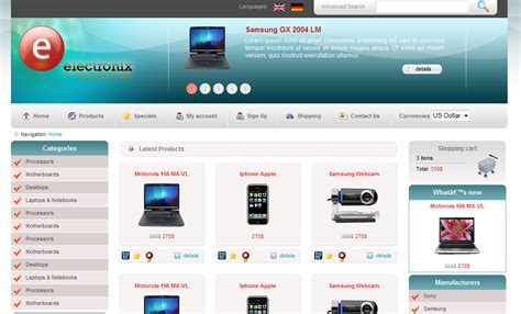 i will give you an ecommerce blogger template with shoping