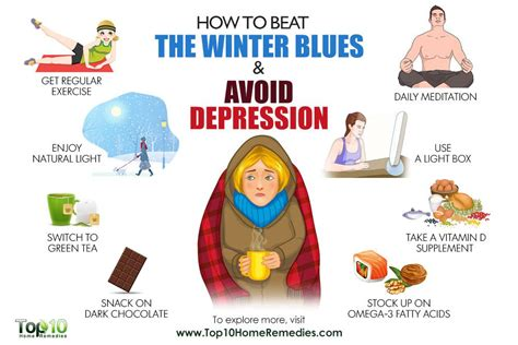 10 Ways To Prevent Depression by How To Beat The Winter Blues And Avoid Depression Top 10